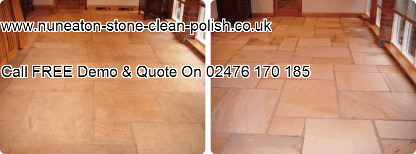 Nuneaton Warwickshire Flagstone Natural Tile Floor